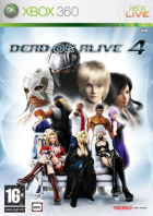 Dead or Alive 4 box art for Xbox 360