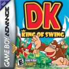 DK King of Swing box art for Game Boy Advance