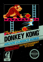 Donkey Kong box art for NES