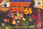 Donkey Kong 64 box art for Nintendo 64