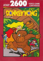 Donkey Kong box art for Atari 2600
