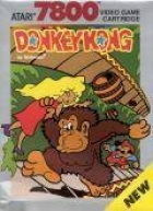 Donkey Kong box art for Atari 7800