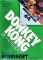 Donkey Kong box art for Commodore 64