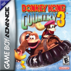 Donkey Kong Country 3 box art for Game Boy Advance