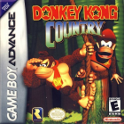 Donkey Kong Country box art for Game Boy Advance