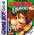 Donkey Kong Country box art for Game Boy Color