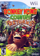 Donkey Kong Country Returns box art for Wii