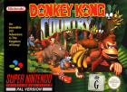 Donkey Kong Country box art for Super NES