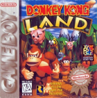 Donkey Kong Land box art for Game Boy