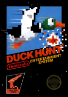 Duck Hunt box art for NES
