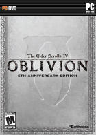 The Elder Scrolls IV: Oblivion (5th Anniversary Edition) box art for PC