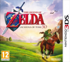 The Legend of Zelda Ocarina of Time 3D box art for Nintendo 3DS