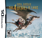 Final Fantasy: The 4 Heroes of Light box art for Nintendo DS