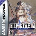 Final Fantasy IV Advance box art for Game Boy Advance