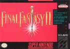 Final Fantasy II box art for Super NES