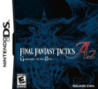 Final Fantasy Tactics A2: Grimoire of the Rift box art for Nintendo DS