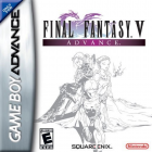 Final Fantasy V Advance box art for Game Boy Advance