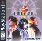 Final Fantasy VIII box art for PlayStation