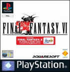 Final Fantasy VI box art for PlayStation