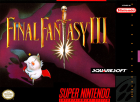 Final Fantasy VI box art for Super NES