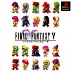 Final Fantasy V box art for PlayStation