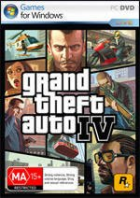 Grand Theft Auto IV box art for PC