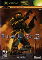 Halo 2 box art for Xbox