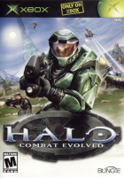 Halo box art for Xbox