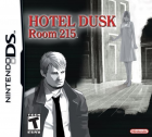 Hotel Dusk: Room 215 box art for Nintendo DS