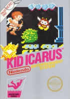 Kid Icarus box art for NES