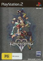 Kingdom Hearts II box art for PlayStation 2