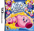 Kirby Mass Attack box art for Nintendo DS