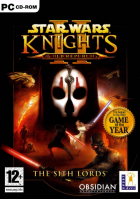 Star Wars: Knights of the Old Republic II: The Sith Lords box art for PC