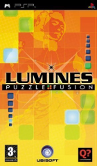 Lumines box art for PSP