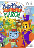 Major Minor's Majestic March box art for Wii