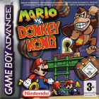 Mario vs. Donkey Kong box art for Game Boy Advance