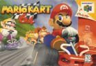 Mario Kart 64 box art for Nintendo 64