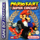 Mario Kart: Super Circuit box art for Game Boy Advance