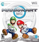 Mario Kart Wii box art for Wii