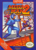 Mega Man 2 box art for NES