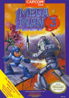 Mega Man 3 box art for NES