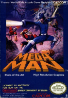 Mega Man box art for NES