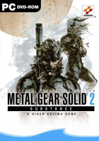 Metal Gear Solid 2: Substance box art for PC