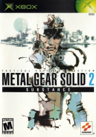 Metal Gear Solid 2: Substance box art for Xbox