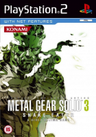 Metal Gear Solid 3: Snake Eater box art for PlayStation 2