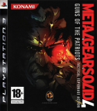 Metal Gear Solid 4: Guns of the Patriots box art for PlayStation 3