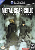 Metal Gear Solid: The Twin Snakes box art for Gamecube