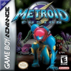 Metroid Fusion box art for Game Boy Advance