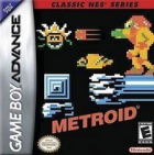 Metroid (Classic NES Series) box art for Game Boy Advance