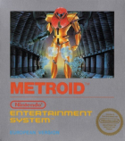 Metroid box art for NES